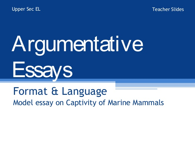 Information for Students about How to Write Argument Essays