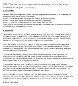 q what are the advantages and disadvantages of building a new  what are the advantages and disadvantages of building a new university in your community essay outline