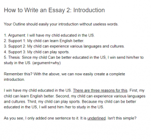 How to Write an Essay: Introduction