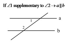 Converse Of The Same Side Interior Angles Theorem