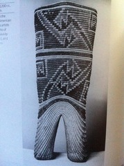 Anasazi- Bi-lobed basket plant fibers Mogul Canyon, Utah 1200 c.e.