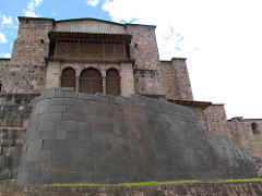 City of Cusco Components Title/ Designation: Qorikancha (Inka main temple) Artist/ Culture: central highlands, Peru, Inka Date of Creation: 1440 CE, convent added 1550-1650 CE Materials: Andesite