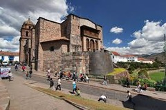 City of Cusco Components Title/ Designation: Santo Domingo (spanish colonial convent) Artist/ Culture: central highlands, Peru, Inka Date of Creation: 1440 CE, convent added 1550-1650 CE Materials: Andesite