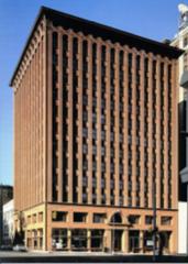 Dankmar Adler and Louis Sullivan: The Guaranty Building, 1895, Modernism