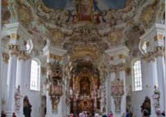 Domenikus Zimmerman, Wies Church, Bavaria, Germany 1745-54