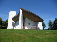 Le Corbusier, Notre Dame du Haut, Ronchamp, France 1950-55, Modernist