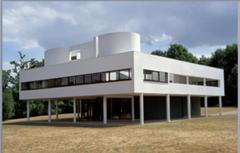 Le Corbusier Villa Savoye, Poissy, France, 1929, Modernist