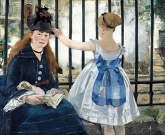 Manet, Gare St. Lazare, 1873, Impressionism