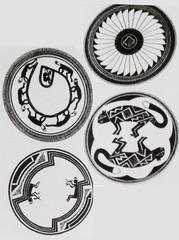 Mimbres- Pottery  1100 c.e.