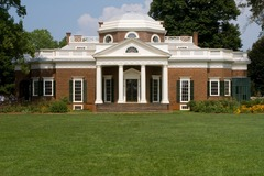 Monticello Virginia, U.S. Thomas Jefferson (architect). 1768-1809 C.E. Brick, glass, stone, and wood By helping to introduce classical architecture to the United States, Jefferson intended to reinforce the ideals behind the classical past: democracy, education, rationality, civic responsibility. Jefferson reinforced the symbolic nature of architecture.