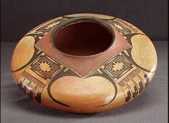 Nampeyo, Hopi- Painted Pottery Jar fired clay and pigment early 20th century