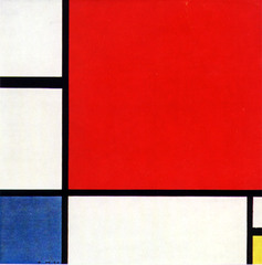 Piet Mondrian Composition with red, blue, and yellow, 1930 De Stijl Non-objective art • Utopian spirit, the movement De Stijl, believed there needed to be a rebirth of society in the birth of a new age post WOrl War 1 • They felt a desire to balance the individual and universal values, •