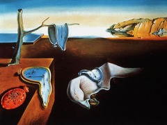 Salvador Dali: The Persistence of Memory, 1929 Surrealism • The Surrealists' desire for inner exploration and the internal psyche by way of the dreams, which through the influence of Sigmun Freud and Carl Jung, thought that dreams were what connected the human consciousness  • Wanted to materialize irrationality, unlike Dada which focused purely on being irrational, Dali wanted to emerge this irrationality  • Time his ended, haunted allegory of empty space • Things juxtaposed in a random fashion  • Melting time, time does not exist • Ants swarm a wath, whie a fly walks along the face of its alrge neighbor • Decaing of life?  • He renders in realistic and intense control  • Dreamlike dissociation of image and meaning, which would create meaning, psychological introspection