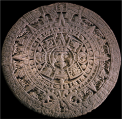 Templo Mayor Components Title/ Designation: Calendar Stone Artist/ Culture: Tenochtitlan (modern Mexico City, Mexico), Mexica (Aztec)  Date of Creation: 1375-1520 CE Materials: stone