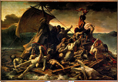 Theodore Gericault, The Raft of the Medusa, 1818 , Romantic