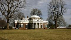Thomas Jefferson, Monticello, Charlotesville, VA 1770-82