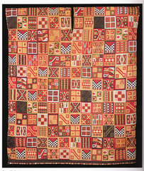 Title/ Designation: All- T'oqapu Tunic Artist/ Culture: Inka Date of Creation: 1450-1540 CE Materials: Camelid fiber and cotton
