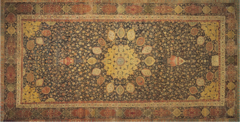 Title/ Designation: Ardabil Carpet Artist/ Culture: Maqsud of Kashan, Persian Date of Creation: 1540 CE Materials: Silk and wool