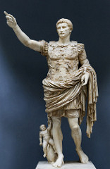 Title/ Designation: Augustus of Prima Porta Artist/ Culture: Imperial Roman Date of Creation: Early first century C.E. Materials: Marble