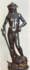 Title/ Designation: David Artist/ Culture: Donatello Date of Creation: 1440-460 CE Materials: bronze