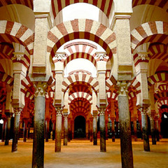 Title/ Designation: Great Mosque  Artist/ Culture: Córdoba, Spain, Umayyad Date of Creation: c. 785-786 CE Materials: stone masonry