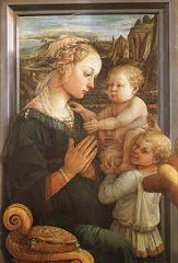Title/ Designation: Madonna and Child with Two Angels Artist/ Culture: Fra Filippo Lippi Date of Creation: c. 1465 CE Materials: Tempera on wood