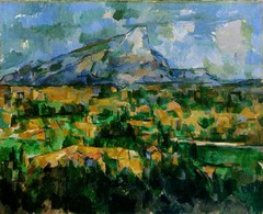 Title/ Designation: Mont Sainte-Victoire  Artist/ Culture: Paul Cézanne  Date of Creation: 1902-1904 Materials: Oil on canvas