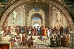 Title/ Designation: School of Athens Artist/ Culture: Raphael Date of Creation: 1509-1511 Materials: fresco