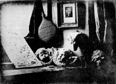 Title/ Designation: Still Life in Studio Artist/ Culture: Louis-Mandé Daguerre Date of Creation: 1837 CE Materials: Daguerreotype