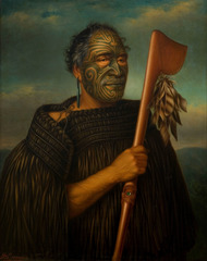 Title/ Designation: Tamati Waka Nene  Artist/ Culture: Gottfried Lindauer  Date of Creation: 1890 CE Materials: Oil on canvas