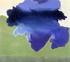 Title/ Designation: The Bay Artist/ Culture: Helen Frankenthaler  Date of Creation: 1963 CE Materials: Acrylic on canvas