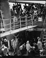 Title/ Designation: The Steerage  Artist/ Culture: Alfred Stieglitz Date of Creation: 1907 CE Materials: Photogravure