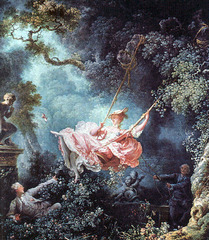Title/ Designation: The Swing Artist/ Culture: Jeane-Honoré Fragonard Date of Creation: 1767 CE Materials: Oil on canvas