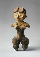 Title/ Designation: Tlatilco Female Figurine Artist/Culture: Central Mexico, site of Tlatilco Date of Creation: 12,000-900 BCE Materials: Ceramic