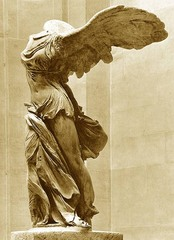 Title/ Designation: Winged Victory of Samothrace Artist/ Culture: Hellenistic Greek Date of Creation:c. 190 B.C.E.  Materials: Marble