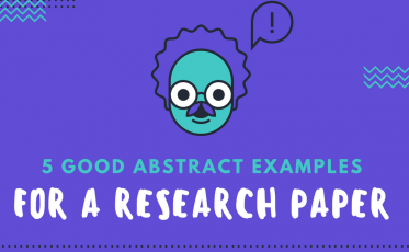 Take a Look at 5 Good Abstract Examples Here