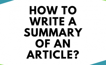 How to Write a Summary of an Article?