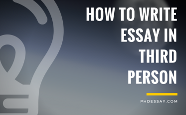 How to Write Essay in Third Person