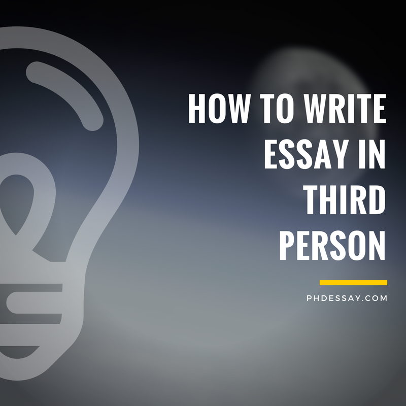 Useful Tips On How To Write An Essay In Third Person  Phdessaycom  Japanese Essay Paper also Should Condoms Be Available In High School Essay  Health Promotion Essay
