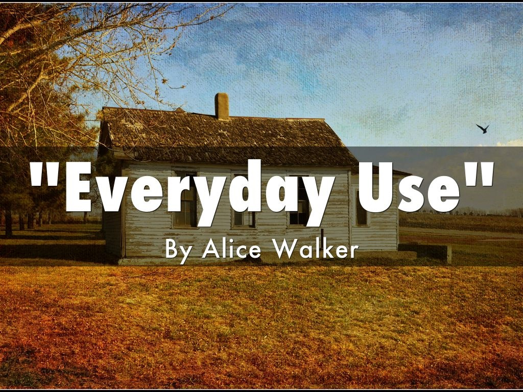 summary of everyday use by alice walker