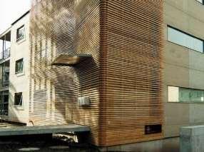 Exterior Bamboo Cladding