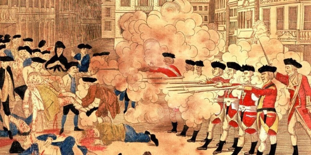 Essays on Boston Massacre