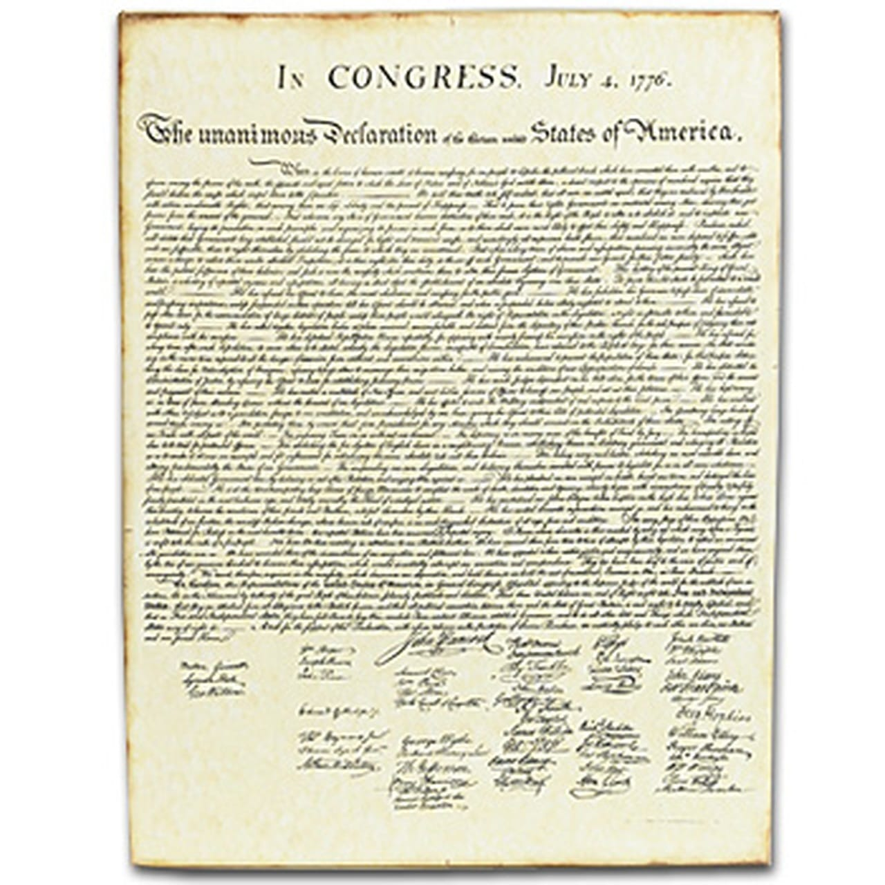 Essays on Declaration of Independence